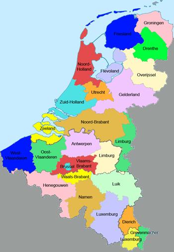 Provinces of the Benelux (Lowlands Combined)   Alternative ...