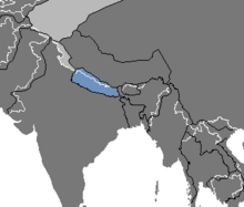 Location of Nepal (Nuclear Apocalypse)