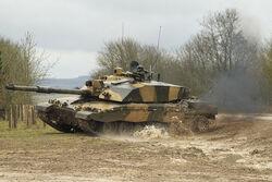 IMAW Tank leaving for battle