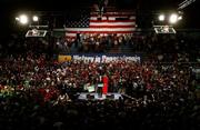 McCain campaign rally 2008 Pottsville, Pennsylvania