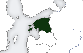 Location of Estonia
