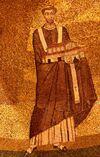 Onorio I - mosaico Santa Agnese fuori le mura