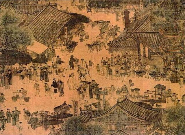 File:800px-Along the River During the Qingming Festival (detail of original).jpg