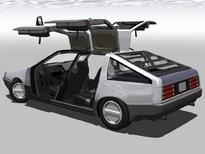 DeLorean S-1 series sedan interior