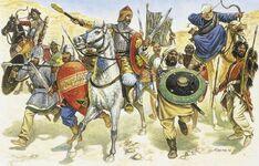 Byzantine-Arab attackers