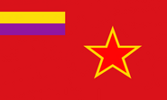 Flag of the Spanish FSR(Ok Stalin)