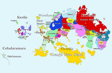 Worldmap political