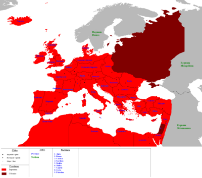 Superpowers Roman Europe 2000 AD
