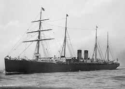 SS Germanic c1890-1900