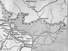 Tanggu Truce Map