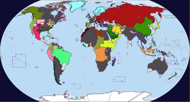 Diversa Pars Map Game 1935 Map