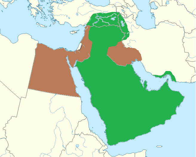 Middle East Map(Act of Ambition)