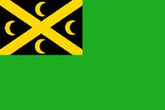 Cocos green ensign
