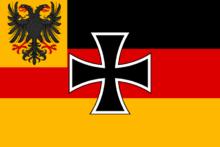 Greater german empire war flag by tiltschmaster-d6riw75