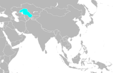 Map of Kazakhstan (A Different History)