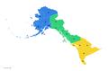 Time Zones of Alaska (Russian America)