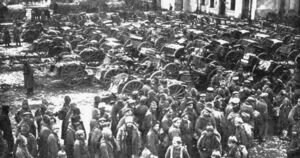 German prisoners Tannenberg