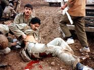 Wounded Irani soldiers 3