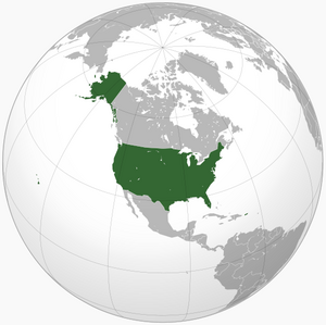 Location of the USA President McCain