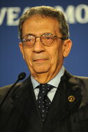 Amr moussa at the 37th g8 summit in deauville 054