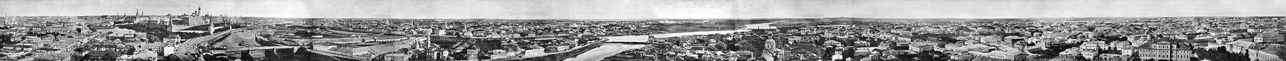 1867 Moscow panorama megapanorama