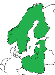 Baltic League Map