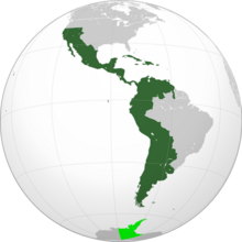 Location of Colombia (Bolivar's Dream)