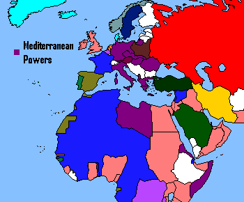 1935 Mediteranean Powers