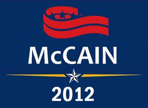McCain-Pawlenty 2012 Campaign Logo