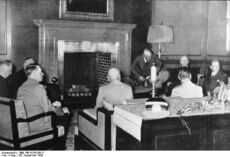 Munich Conference 29.9.1938 - meeting in Hitler's study