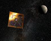 750px-IKAROS solar sail-1-