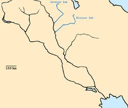 Zab rivers