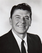 Governor Ronald Reagan Press Photo