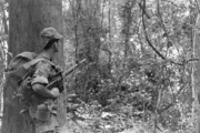 Portuguese soldier in Angola