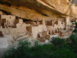 Cliff Palace - Mesa Verde National Park - Colorado, USA - 30 July 2010