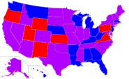 Map of Senators 1979