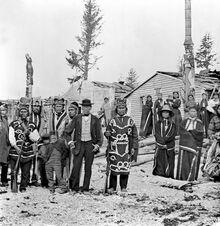Tlingit modernized natives