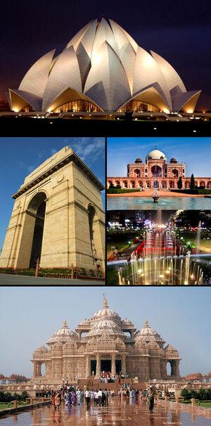 Delhi Montage
