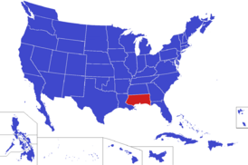 United States map - West Florida (Alternity)