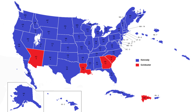 File:United States electoral map 1964 (Alternity - Dallas Divergence).png