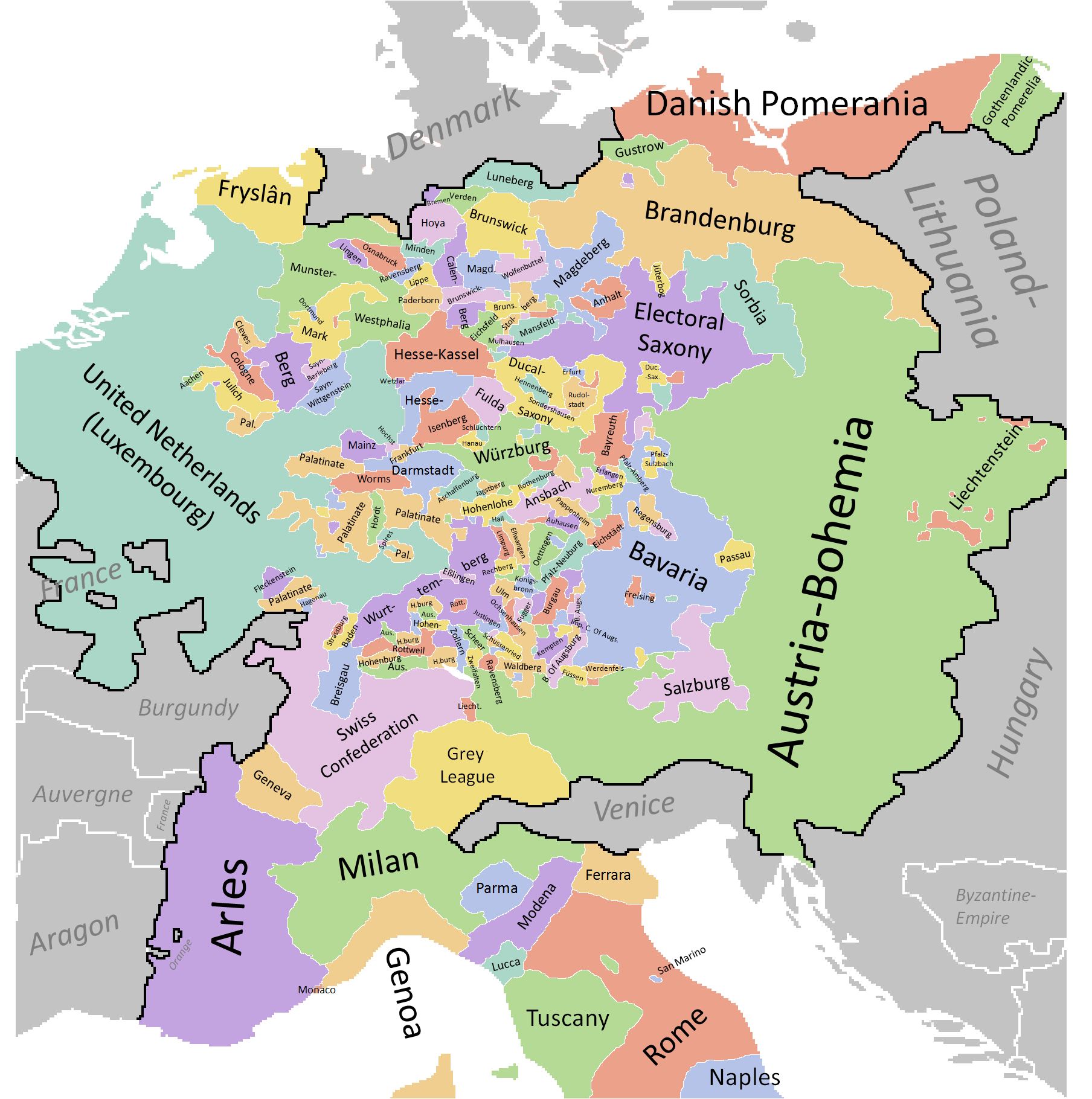 holy roman empire the lutheran revolt Martin luther's reformation sharply divided german princes within the holy roman empire, leading to conflict between the catholic hapsburg emperors and the princes (primarily in the northern part of the empire) who adopted lutheran protestantism.