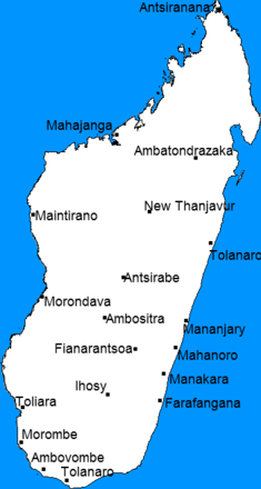Madagascar city states