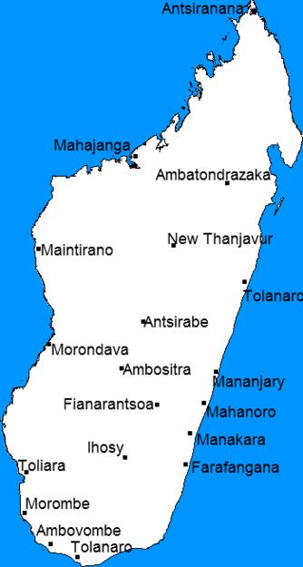 Madagascar city states