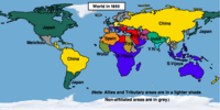 Timeline 1800s (Easternized World)