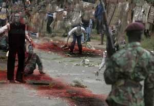 Africa zom riot