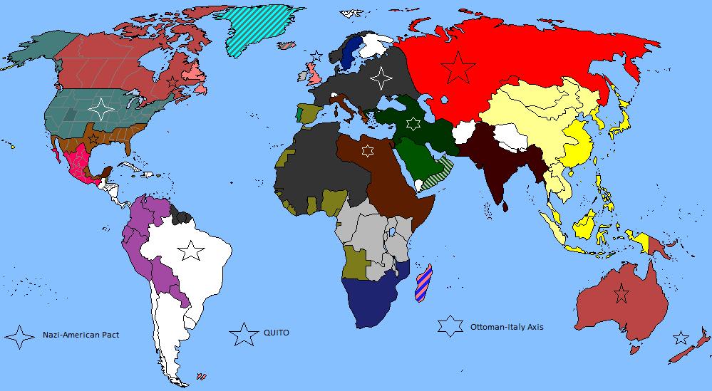 Map of Eine allainces