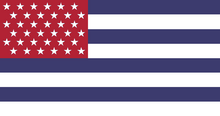 Alternate US flag with 36 stars