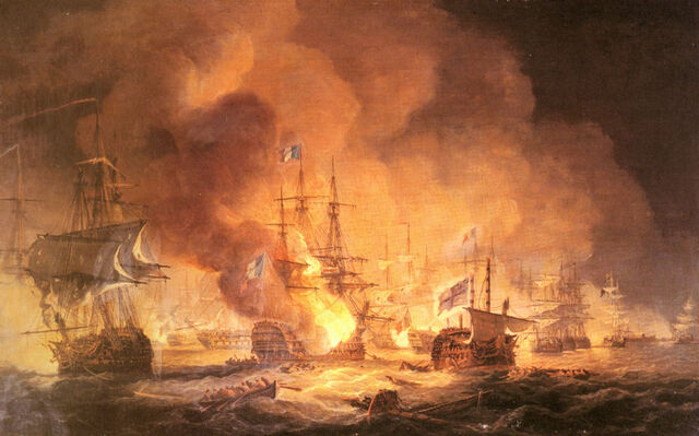 File:Luny Thomas Battle Of The Nile August 1st 1798 At 10pm.jpg