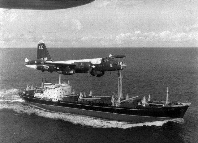 File:P-2H Neptune over Soviet ship Oct 1962.jpg