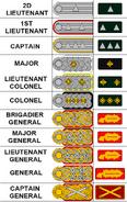 PNU officers rank (Atomic World Map Game)